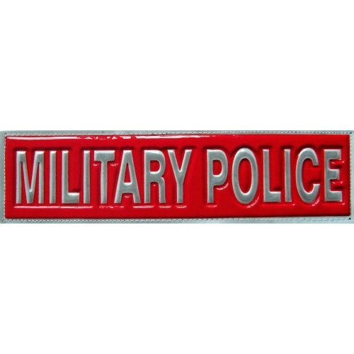 Reflective MILITARY POLICE Patch -Red-30 x 8cm