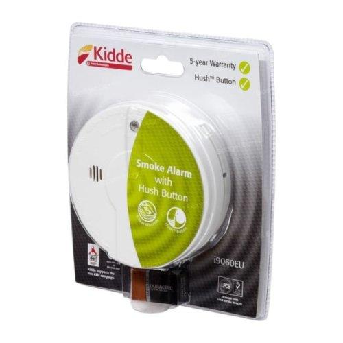 Kidde Smoke Alarm - Living Areas Hush Test KIDI9060UKC