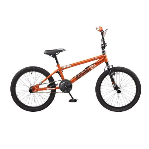 """Rooster Radical Kids 20"""" Wheel Freestyle BMX Bike Bicycle Gyro Orange RS115"""