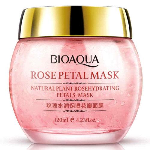 Sleeping Mask Cream Essence No Wash Rose Petal Moisturizing Night Cream Anti Aging Anti Wrinkle Nutrition Face Mask BIOAQUA
