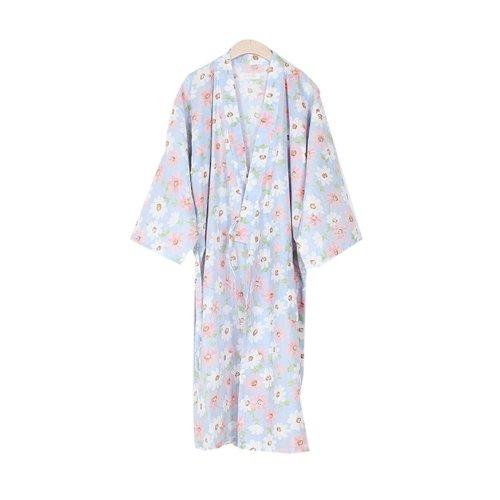 Cotton Pajamas Sleeping Sweat Khan Steamed Clothing Loose Pajamas Yukata