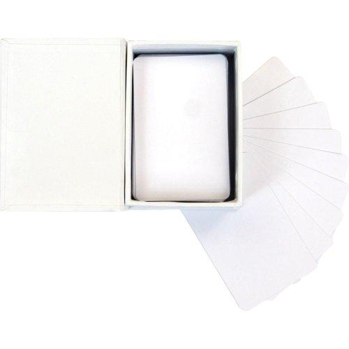 "Prima Marketing Altered Atc Card Set 2.25""X3.5""-White"