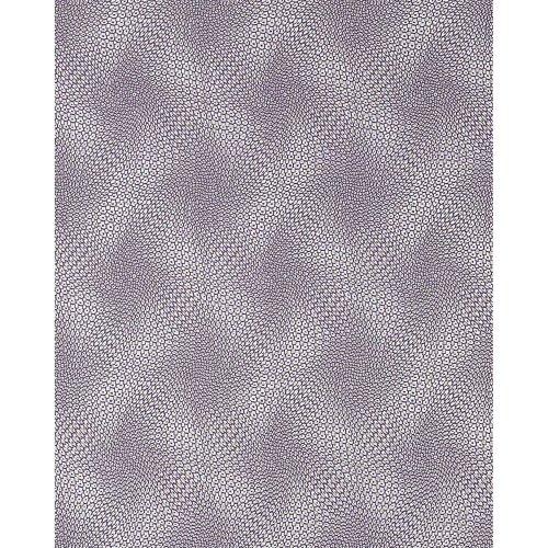 EDEM 064-24 wallpaper retro 3D abstract design lilac violet silver | 5.33 sqm