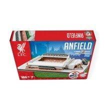 Anfield Liverpool Football Stadium 3d Model Jigsaw Puzzle (165 Pieces)