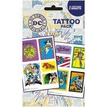 Dc Comics Heroes and Villians Tattoo Pack