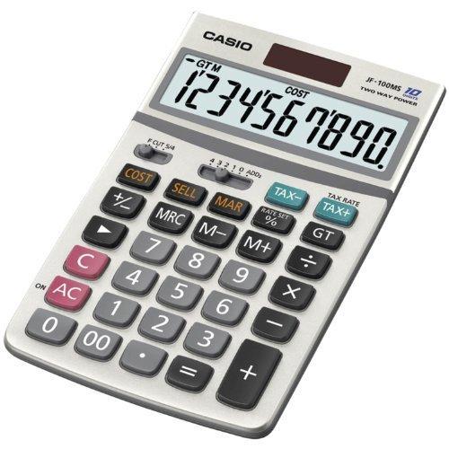 Casio Inc JF 100BM Standard Function Calculator