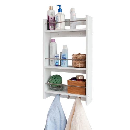 SoBuy® FRG33-W, Bathroom Kitchen Wall Shelf Wall Cabinet 3 Shelves