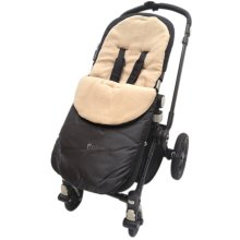 Broderie anglaise Footmuff//Cosy toes//Cosy Toes Fit poussette Pushchair Baby Cream