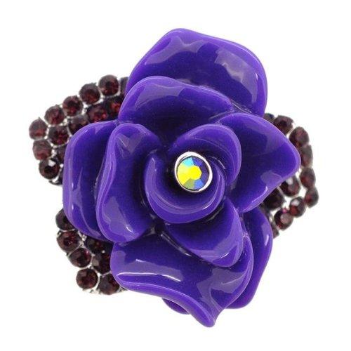 02da1f11ace Fantasyard Dark Rose Pin Brooch - Amethyst Purple - 1.5 x 1.5 in. on OnBuy