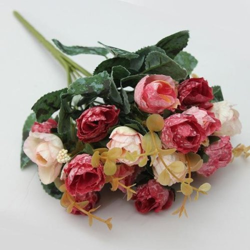 Artificial Rose Bouquet Party Home Decoration Garden Decoration