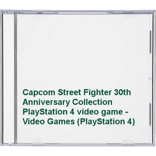 Capcom Street Fighter 30th Anniversary Collection PlayStation 4 video game - Video Games (PlayStatio