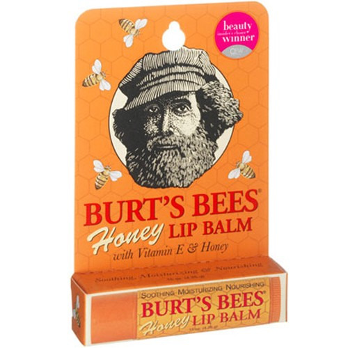 Burts Bees Honey Lip Balm Tube .15 Oz (order 36 for Trade Outer)
