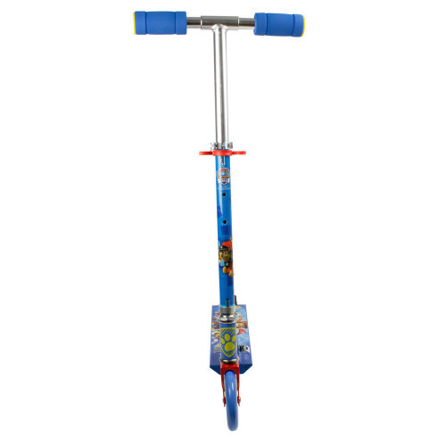 PAW PATROL Kid's Foldable Two Wheel In-line Scooter with Adjustable Handlebar, Blue (OPAW112)