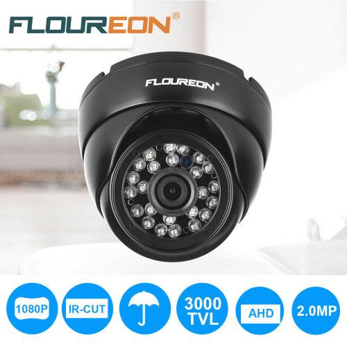 1080P AHD CCTV DVR Dome Camera Indoor Outdoor 24pcs IR Night Vision
