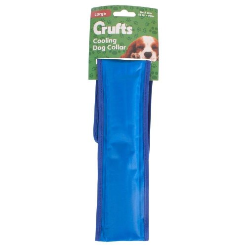 Crufts Cooling Dog Collar - Large