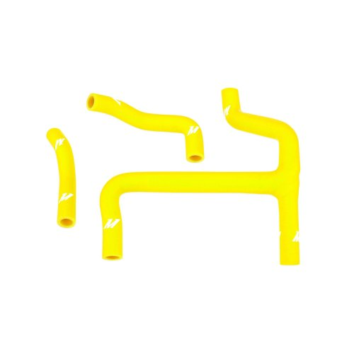 Mishimoto MMDBH-RMZ250-10KTYYW Suzuki RMZ250 Silicone Hose Kit, 2010-2011 Yellow