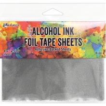 "Tim Holtz Alcohol Ink Foil Tape Sheets-4.25""X5.5"""