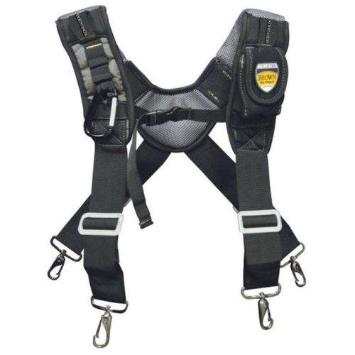 Brown Bag Company BL-30290 Toolrider Gsx Gel Foam Suspenders