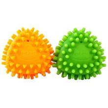 Dryangles Dryerballs By Mrs Green's Laundry, Set Of 2, Orange And Green