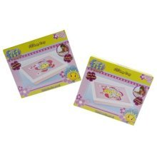 Pink 'fifi And The Flowertots'laptray - Tray Fifi Cushioned Childrens Lap Dinner -  tray fifi pink cushioned childrens lap dinner
