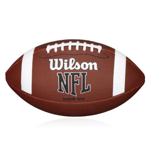 Wilson NFL Bin American Football Ball Junior Tan