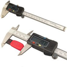 "Digital Caliper Vernier Gauge Micrometer Tool 6"" 150mm Electronic LCD Display UK"