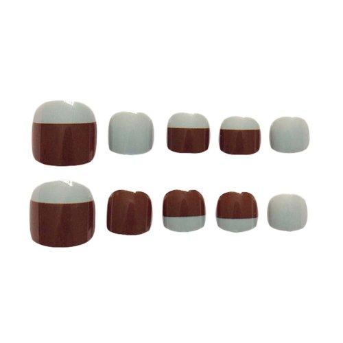 2 Box Artificial Nails Simple Style False Nails False Toenails Nail Decoration
