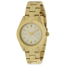 DKNY Jitney Gold-Tone Ladies Watch NY2132