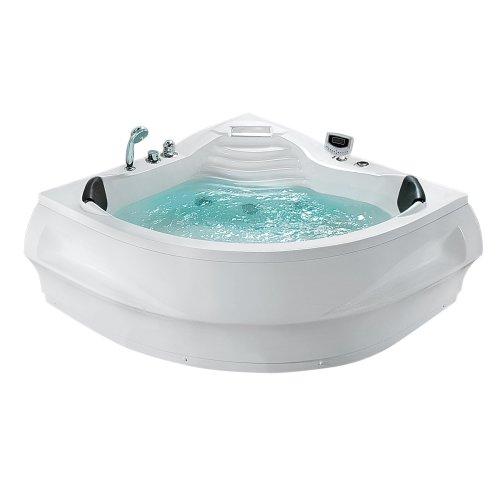 Whirpool Corner Bath White MONACO II