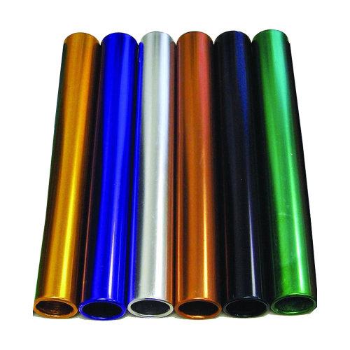 AAG Aluminum Junior Relay Baton Set for Sprints Running (6 Colors)