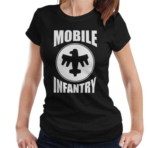 Mobile Infantry White Design Starship Troopers Women's T-Shirt
