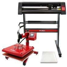 PixMax 38cm Swing Heat Press, Vinyl Cutter