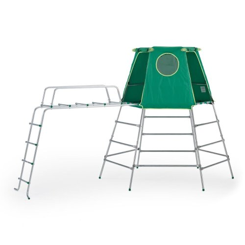 TP Toys Explorer Metal Climbing Frame Set With Jungle Run Extendable From Low-High Height Ages 18 Months-12 Years