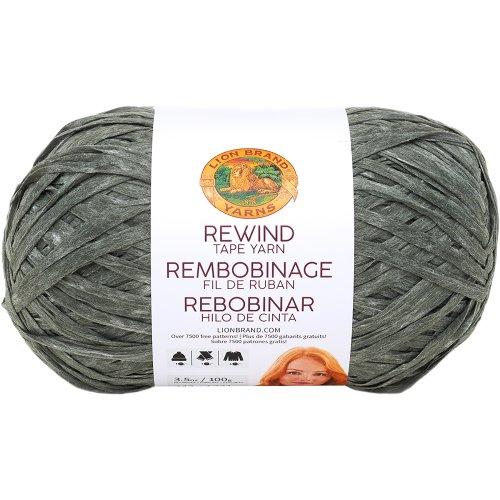 Lion Brand Rewind Yarn-Olive You
