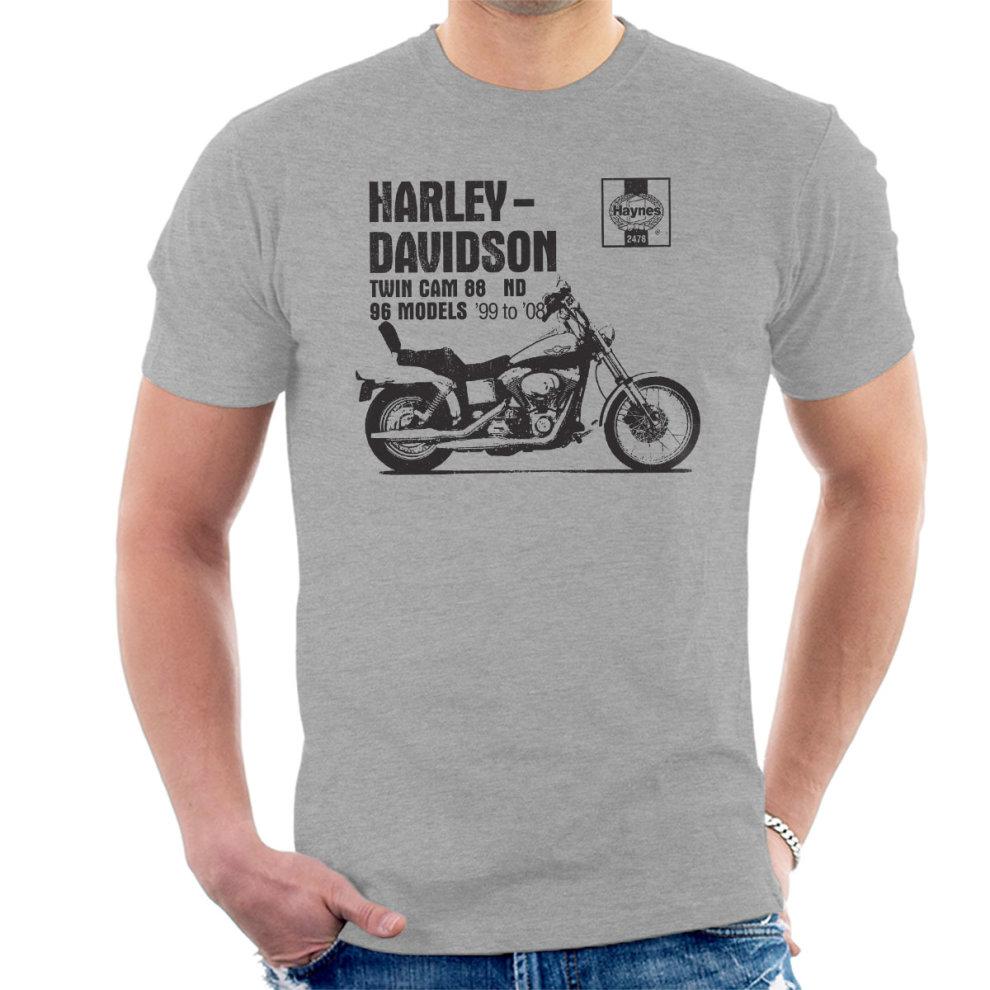 Haynes Owners Workshop Manual 2478 Harley Davidson Twin Cam 88 ND Men's T- Shirt ...