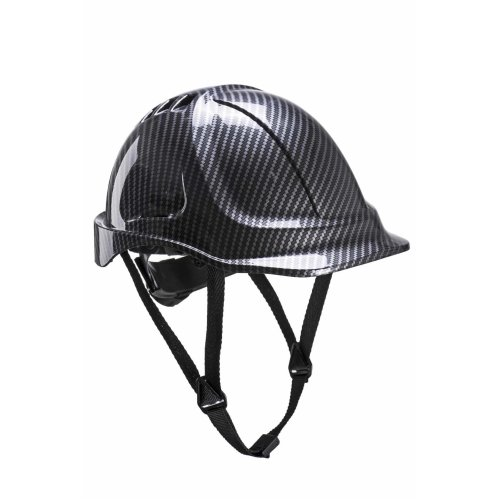 sUw - Site Safety Workwear Endurance Carbon Look Helmet Hard Hat Grey