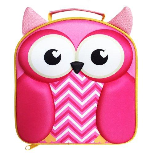 Polar Gear Kids 3D EVA Lunch Bag, Owl