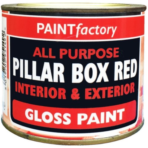 1x 170ml All Purpose Piller Box Red Interior & Exterior Paint