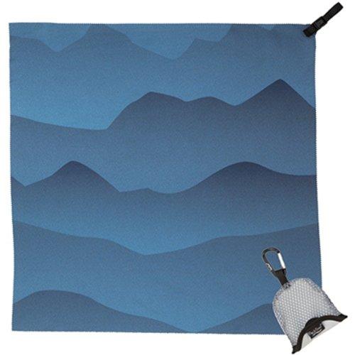 PackTowl Nano Compact Towel (Blue Mountains)