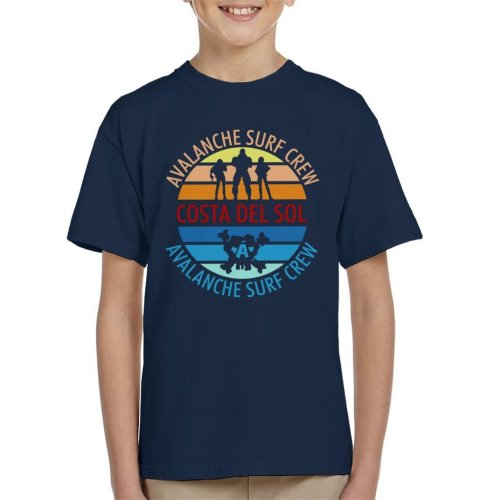 Final Fantasy Costa Del Sol Avalanche Surf Crew Kid's T-Shirt