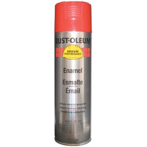 Rustoleum 15 Oz Safety Red Professional High Performance Enamel Spray  V2163-838 - Pack of 6