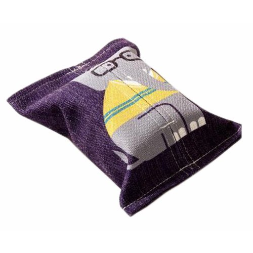 Convenient Cloth Toilet Paper Tissue Holder Storage Box Elephant Multicolor