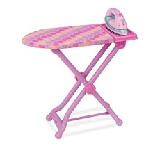 Play Circle Iron and Ironing Board Toy Playset for Kids