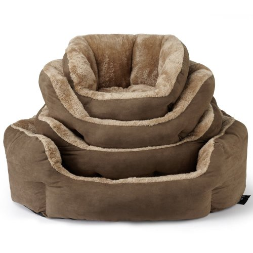 Bunty Polar Dog Bed | Soft Fleece Pet Bed