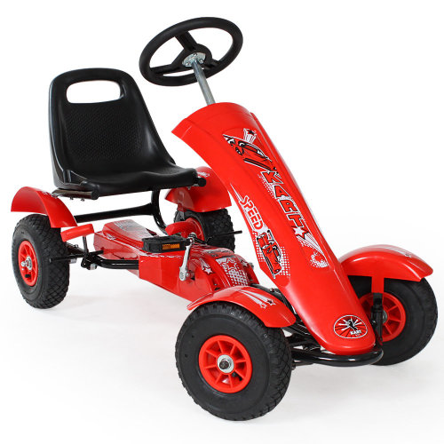 1 seat go kart red