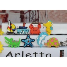 Ocean Theme Magnets Cute Fridge Magnets for Kids, 8 PCS (Style may vary)