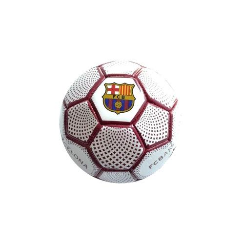FC Barcelona Diamond Official Supporter Mini Football Soccer Ball White - Size 1