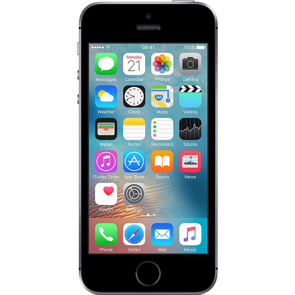 EE, 16GB Apple iPhone SE - Space Grey