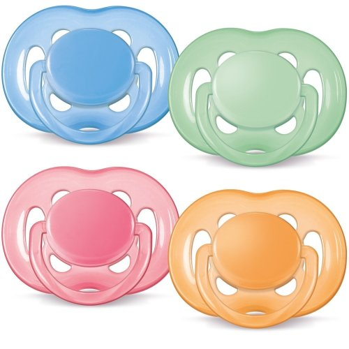 Philips Avent Scf178/24 Bpa Free Free-flow Soothers (6-18 Months)