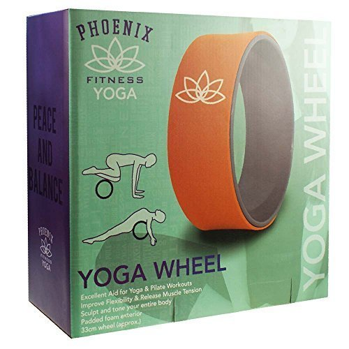 Yoga Wheel - Phoenix Fitness Foam Back Stretch Roller Body Chest Spine Gym -  yoga wheel phoenix fitness foam back stretch roller body chest spine